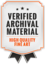 Logo High Quality Fine Art Badge