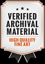 Logo High Quality Fine Art Badge