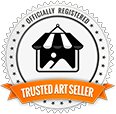 Logo Trusted Art Seller Badge